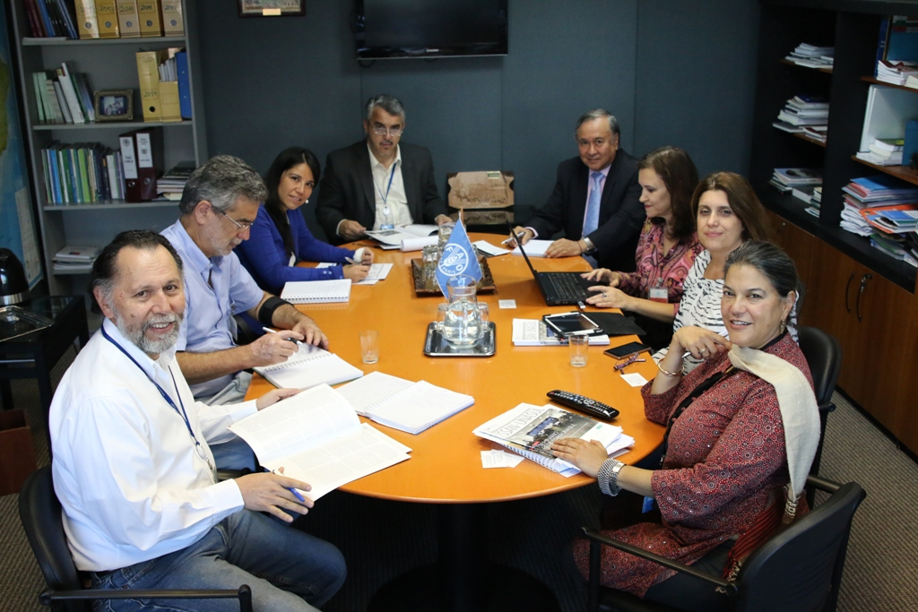 Encontro entre a direção tecnica da Rede SSAN-Unasul, representantes da FAO e pesquisadores