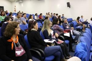 Pesquisadores e autoridades foram o público do Fórum - Foto João Pimentel - Unesp