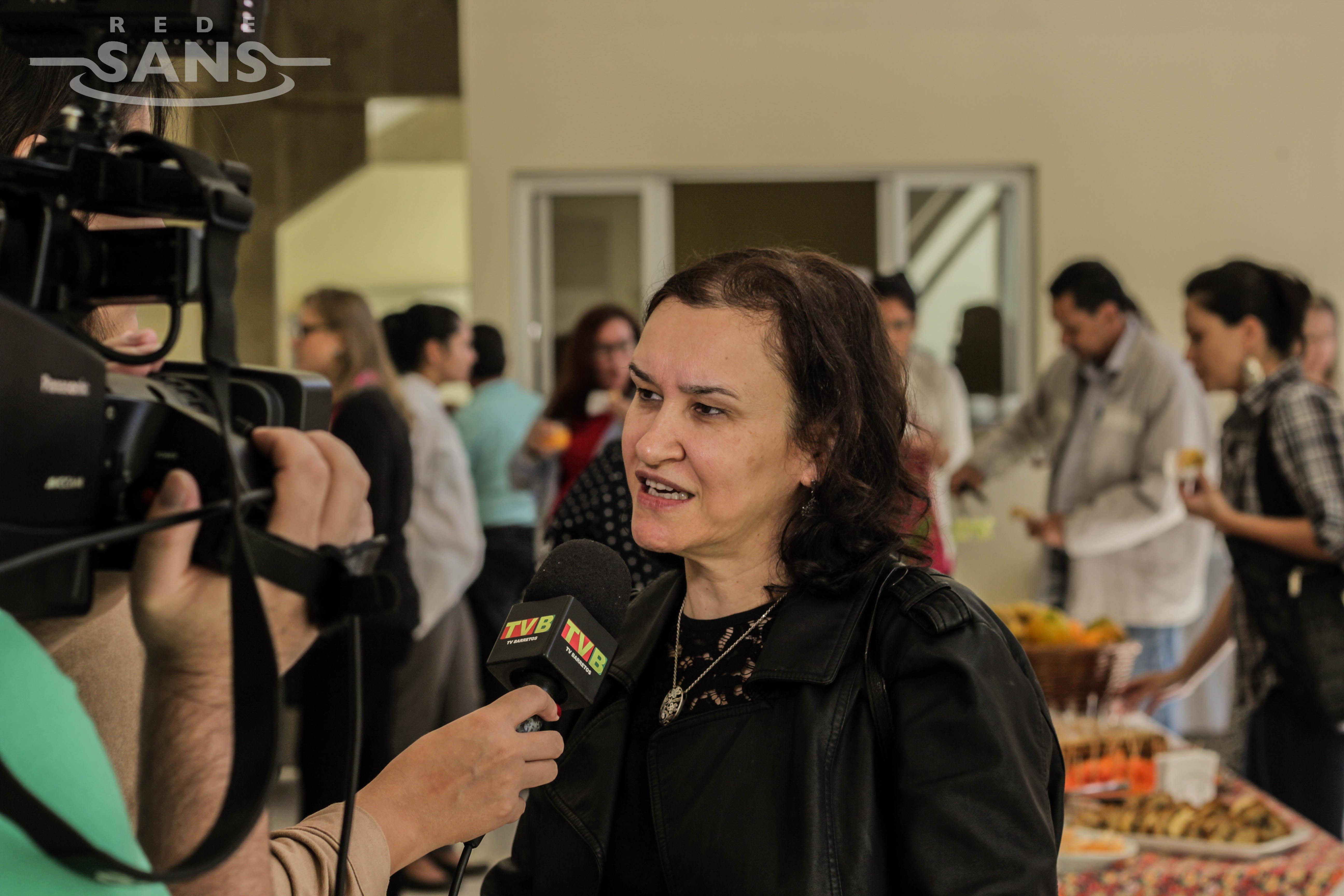 Maria Rita Marques de Oliveira ressaltou a necessidade de multiplicar o conhecimento