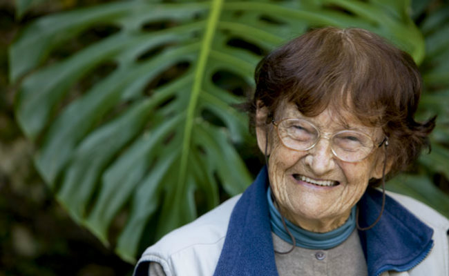 A Dra. Ana Primavesi é uma das precursoras da Agroecologia no Brasil