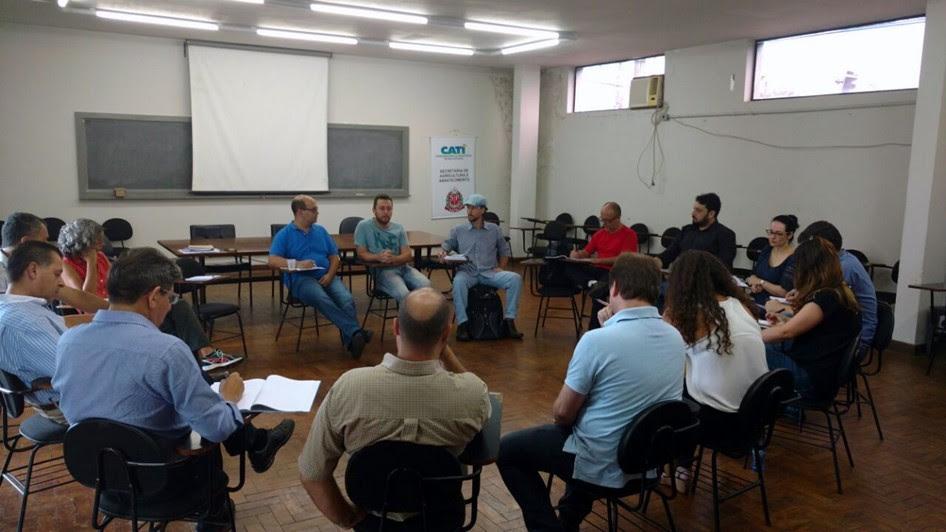 Reunião do CRSANS em Pindamonhangaba; a região conta com 39 municípios