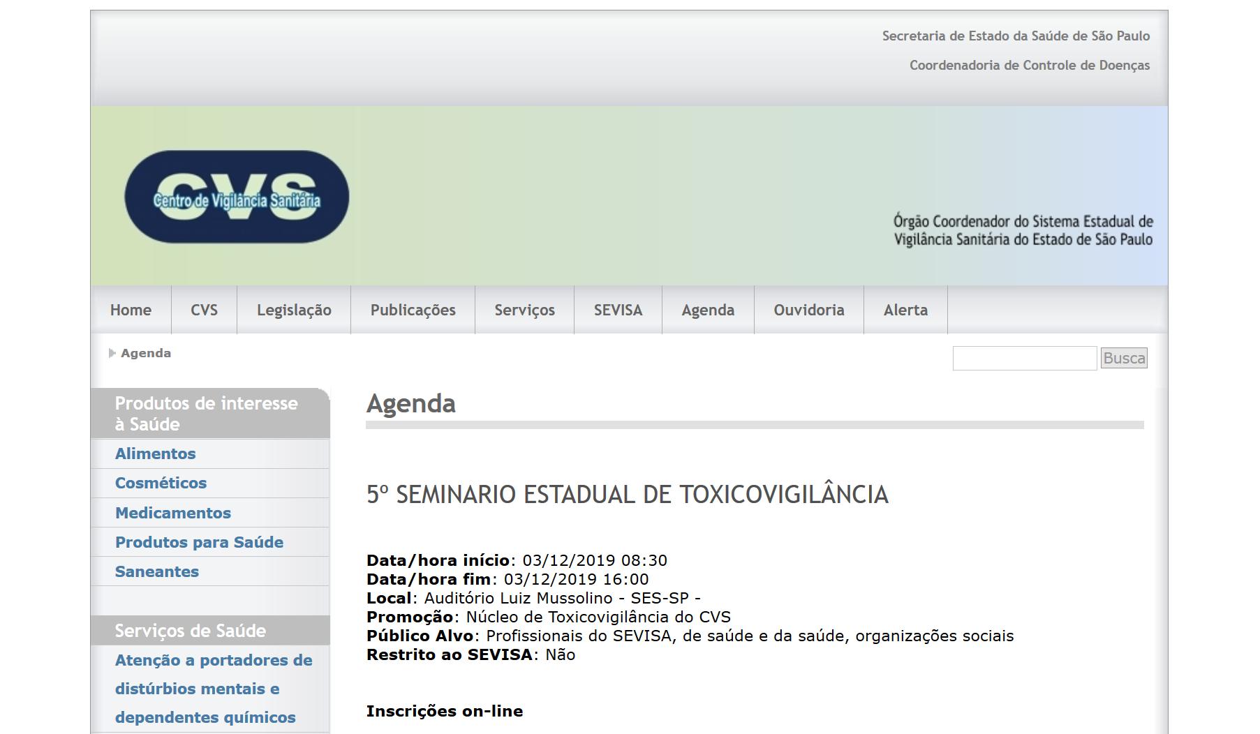 Screenshot_2019-11-21 Centro de Vigilância Sanitária