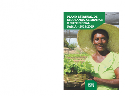 Plano Estadual Seguranca Alimentar e Nutricional Bahia 2015-2019