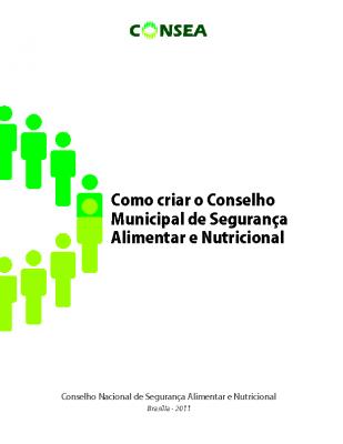 como criar o conselho municipal de SAN