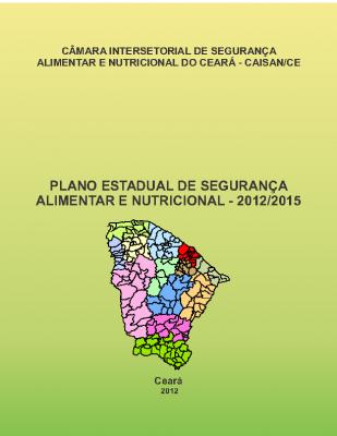 plano estadual SAN Ceará 2012-2015